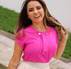 5463586855 Blusa Curta Viscose no Mercado Livre Brasil