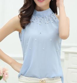 c50e0b528d Blusa Branca Para Reveillon Com Perolas - Camisetas e Blusas no Mercado  Livre Brasil