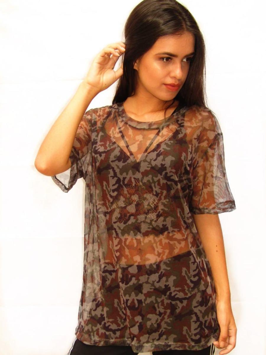 1caac3cde blusa blusinha tule transparente e cropped tule oferta curta. Carregando  zoom.