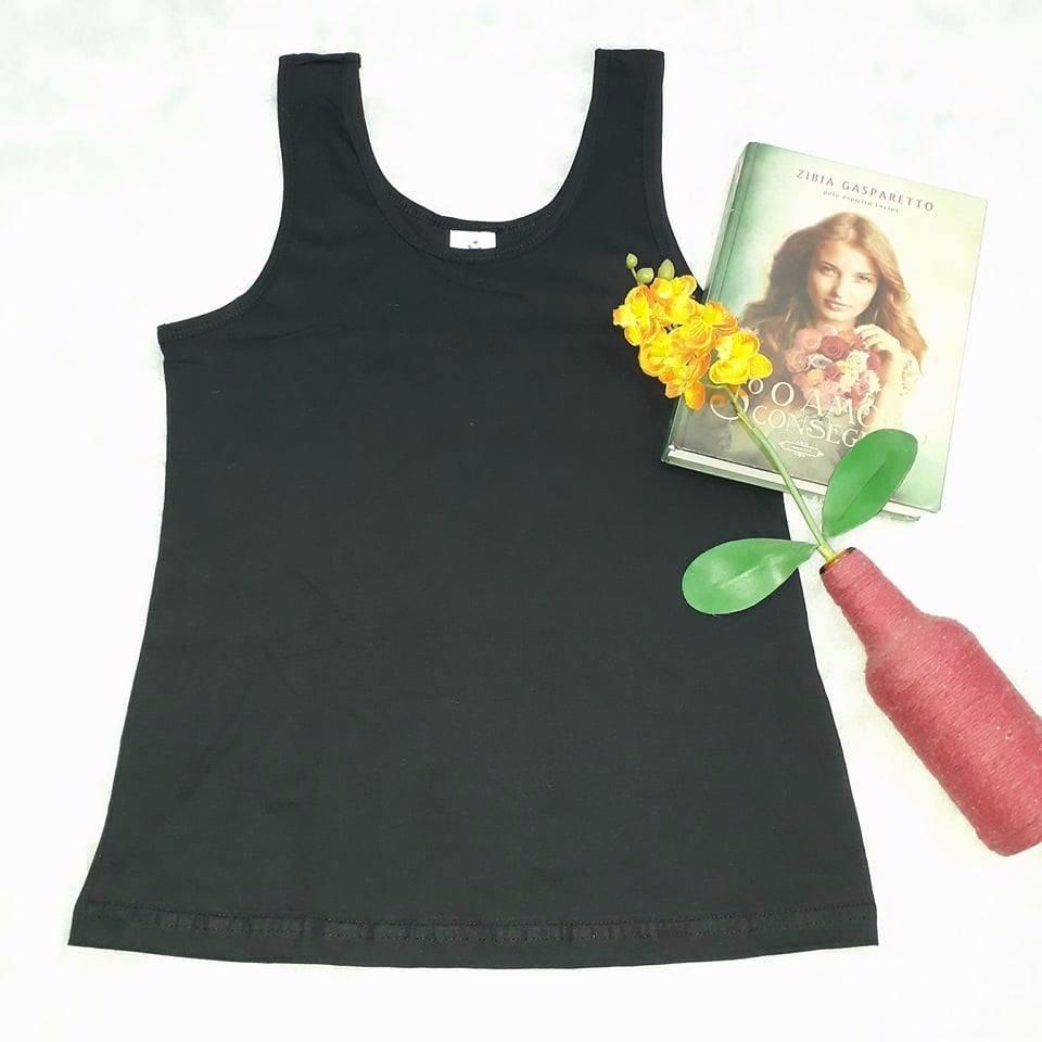 blusa blusinha viscose renda guipir regata femininas alcinha. Carregando  zoom. 07a6e1dcd3e