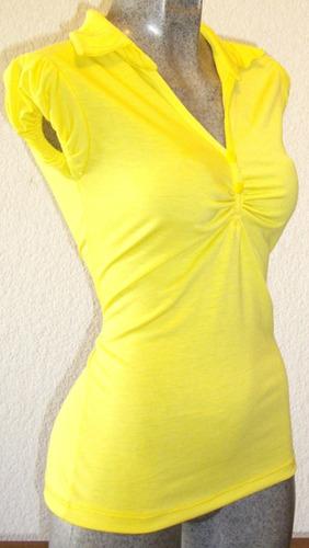 blusa bluson playera licra algodon unitalla moda actual spo