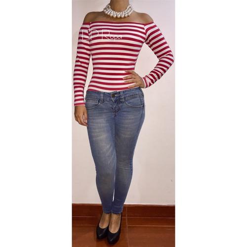 blusa body campesina cuello bandeja mujer hombros moda mujer