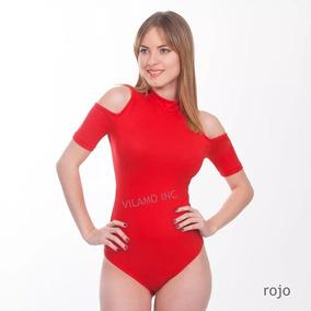 09c20888619b Blusa Body Dama Diseño Original Vilamo A La Moda Ref: 5502