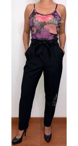 blusa body transparente malla tiras estampado sin manga moda