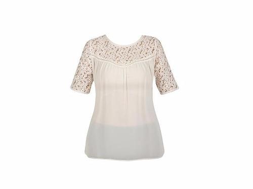 blusa bohemia bordado crochet encaje moda nacioanal ma