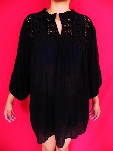 blusa bordada a mano, hermosa, comfortable y resistente m