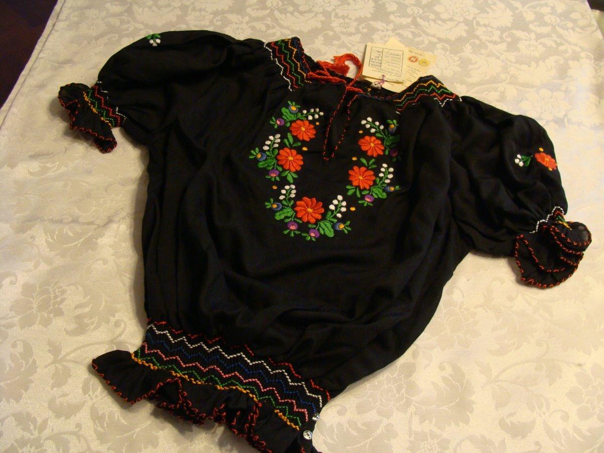 alemana Cargando original bordada húngara blusa zoom típica aPwFHH