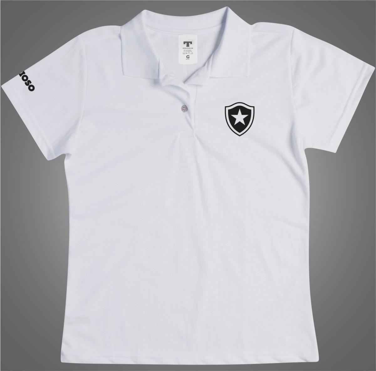 aa33f64cbf Blusa Botafogo Polo Feminina