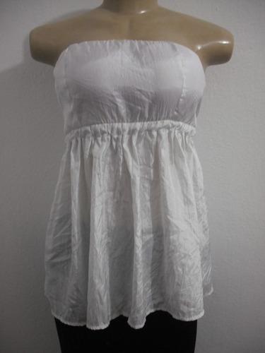 blusa branca tafetá tqc tam 44 ótimo estado