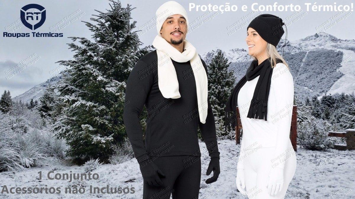e11fa4ce8d blusa + calça frio segunda pele flanelada viagem neve moto. Carregando zoom.
