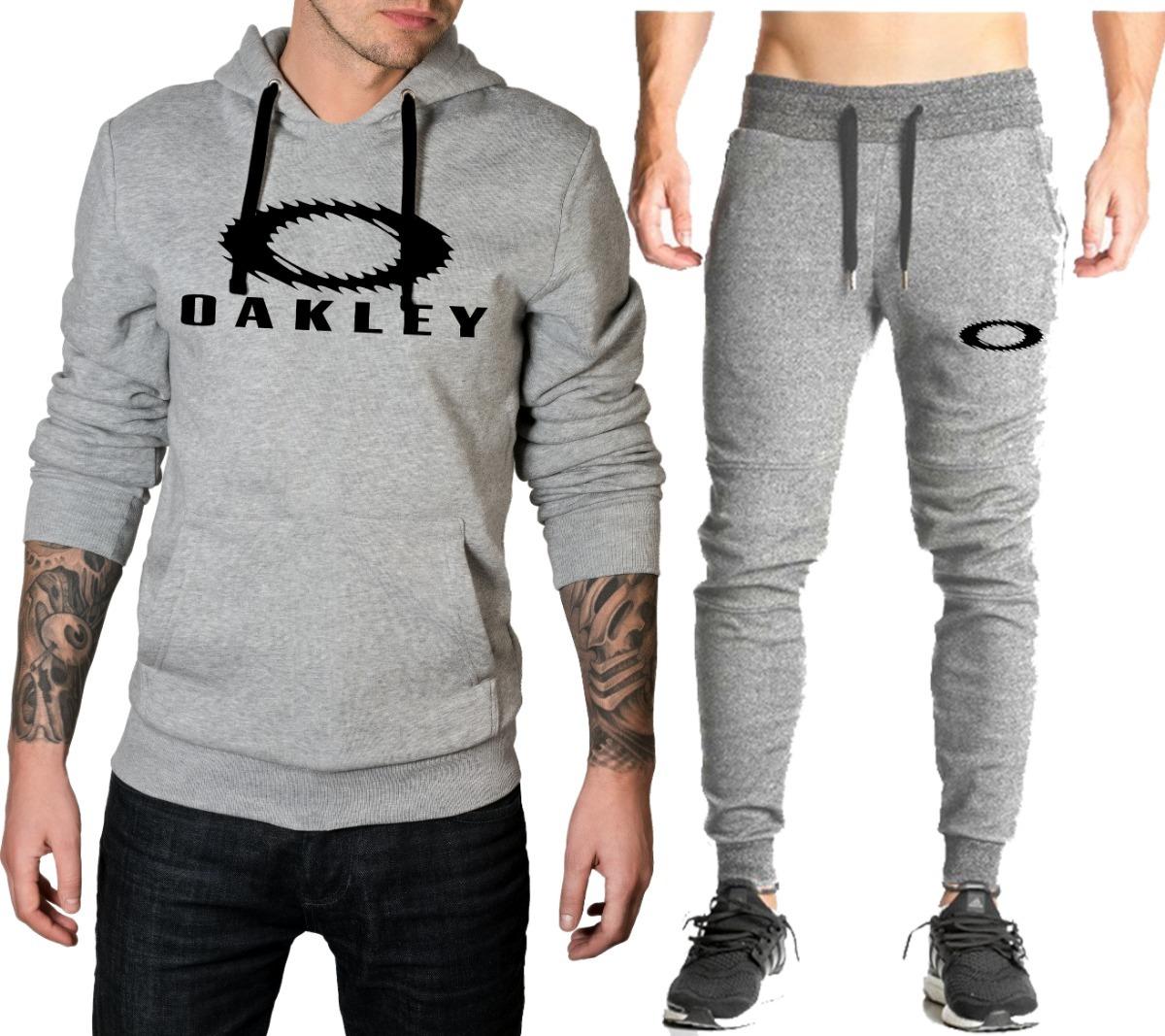 Blusa + Calça Oakley Mod 06 Conjunto Roupa Completo Promoção - R ... 70ee129c5a7