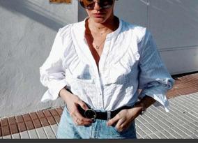 Blusa Polos Y Color Ndd Zara Uvamorada Camisas Blusas En L1jcfkt3