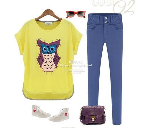 blusa camisa coruja importada belíssima pronta entrega