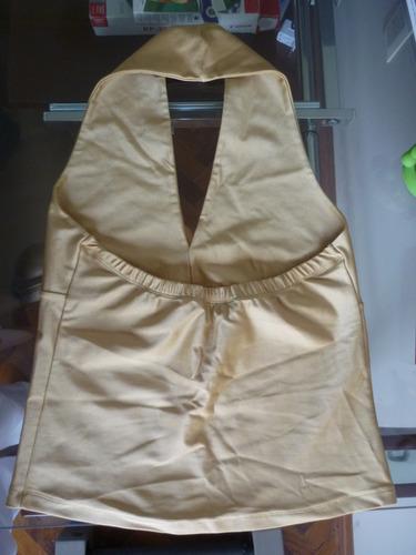 blusa camisa dorada nueva dos modelos ropa