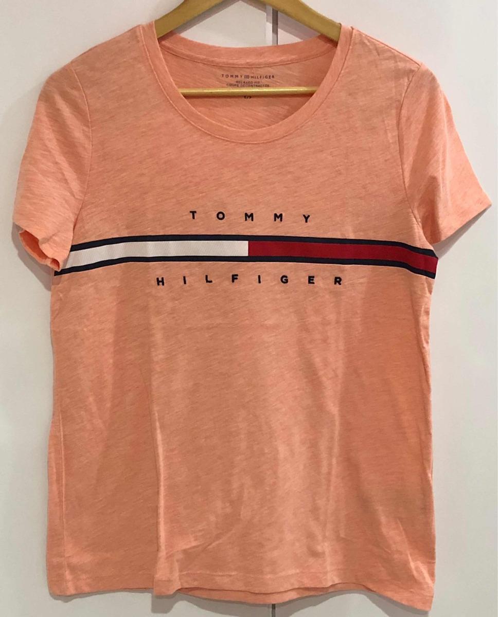 4ebb30013 blusa camisa feminina tommy hilfiger modelo novo original. Carregando zoom.