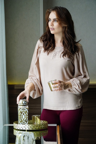 blusa camisa feminina viscose toque de seda