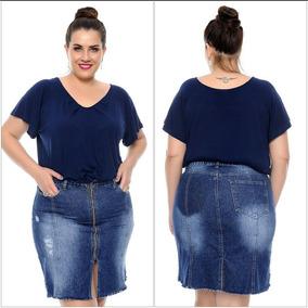 1406c74079 Camisa Jeans Tamanho Extra Grande - Camisas no Mercado Livre Brasil