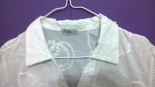 blusa camisa manga