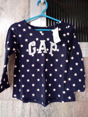 blusa camisa manga comprida gap infantil original 18-24 body