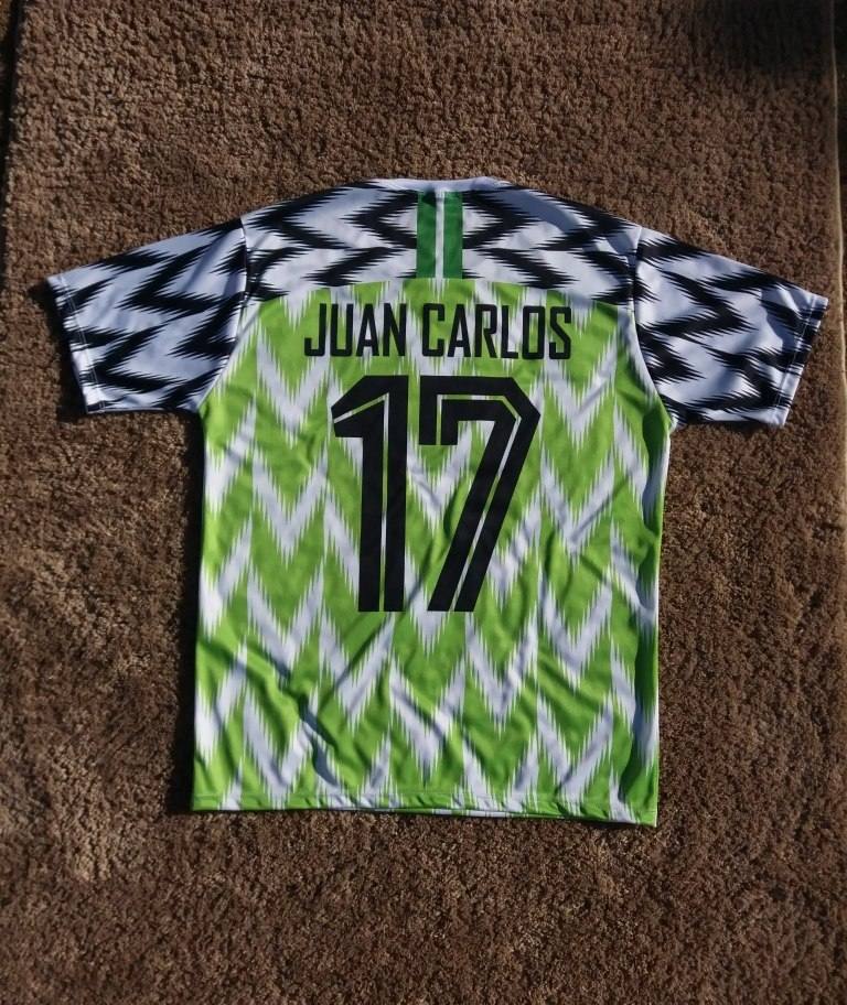 a0d5f1f16c5b9 blusa camisa nigéria personalizada copa do mundo 2018 verde. Carregando  zoom.