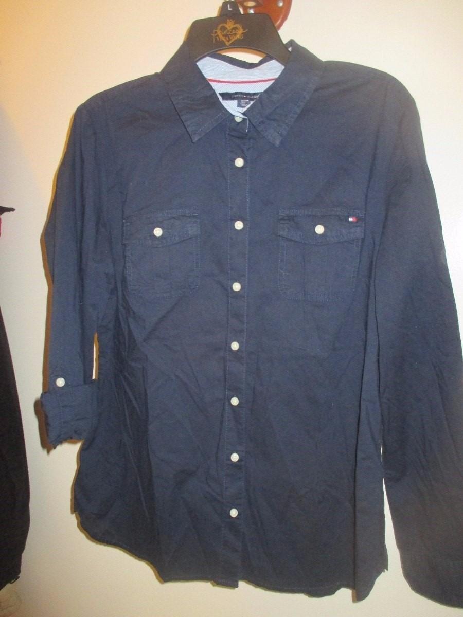 08d6dc753f9 blusa camisa para dama marca tommy hilfiger talla l. Cargando zoom.