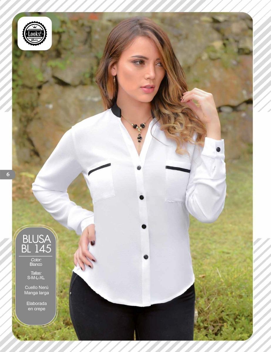 675e66d2ef ... camisa para dama moderna variadas. Cargando zoom.