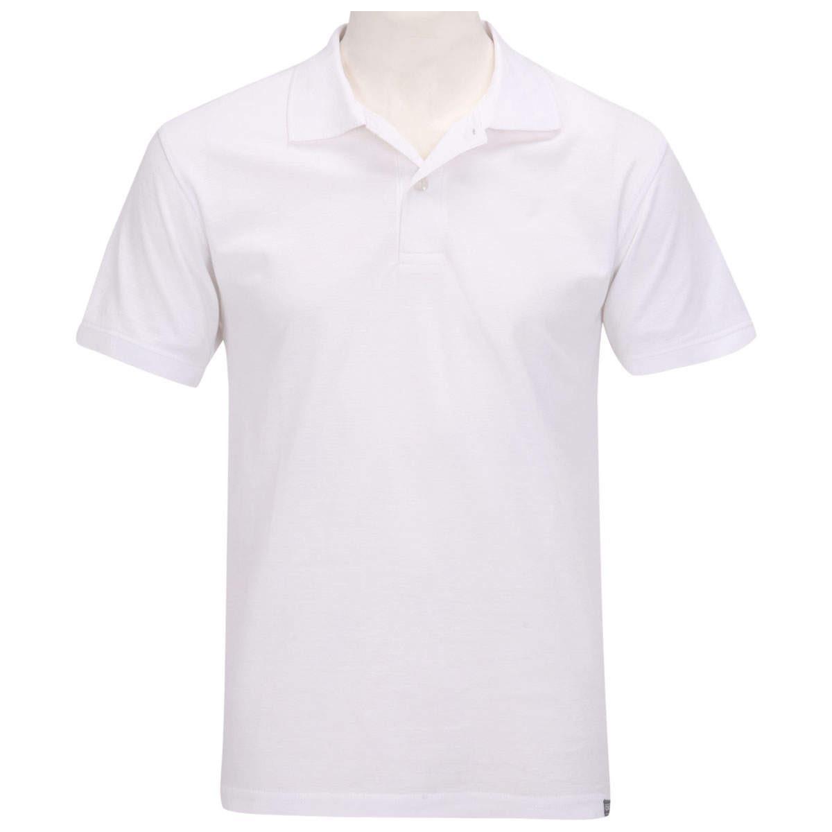 4c5d2afc19 blusa camisa polo oxer basic west masculina branca tam. p. Carregando zoom.