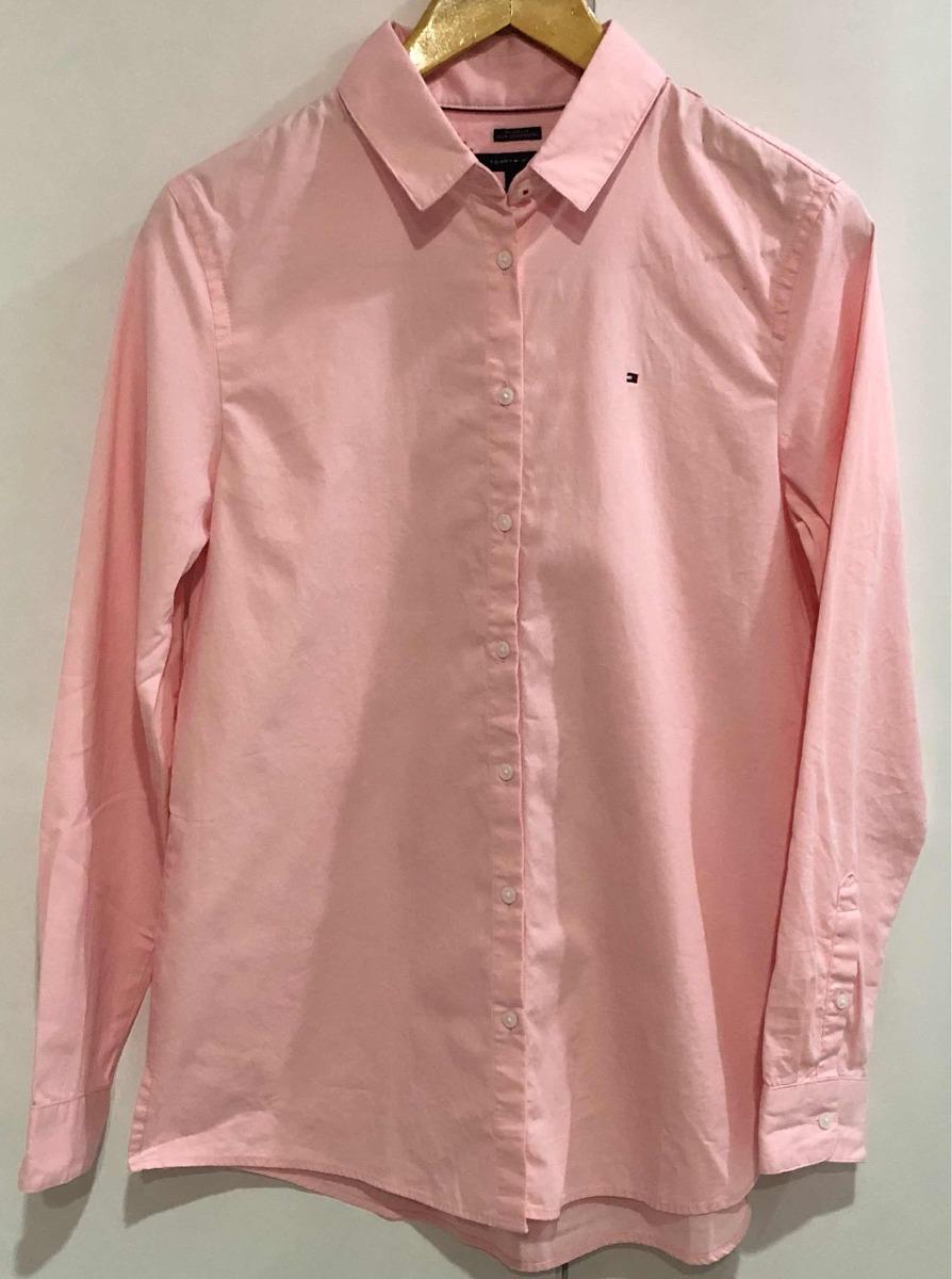 e5e53f4a6 blusa camisa social feminina tommy hilfiger - original. Carregando zoom.
