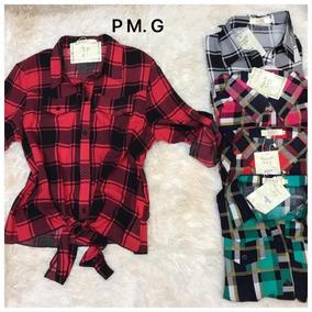 ef2ac70dbb Blusa Amarrar Cintura - Camisetas e Blusas no Mercado Livre Brasil