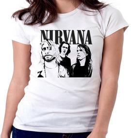 c338a63df5 Blusas De Rock Femininas Nirvana - Calçados