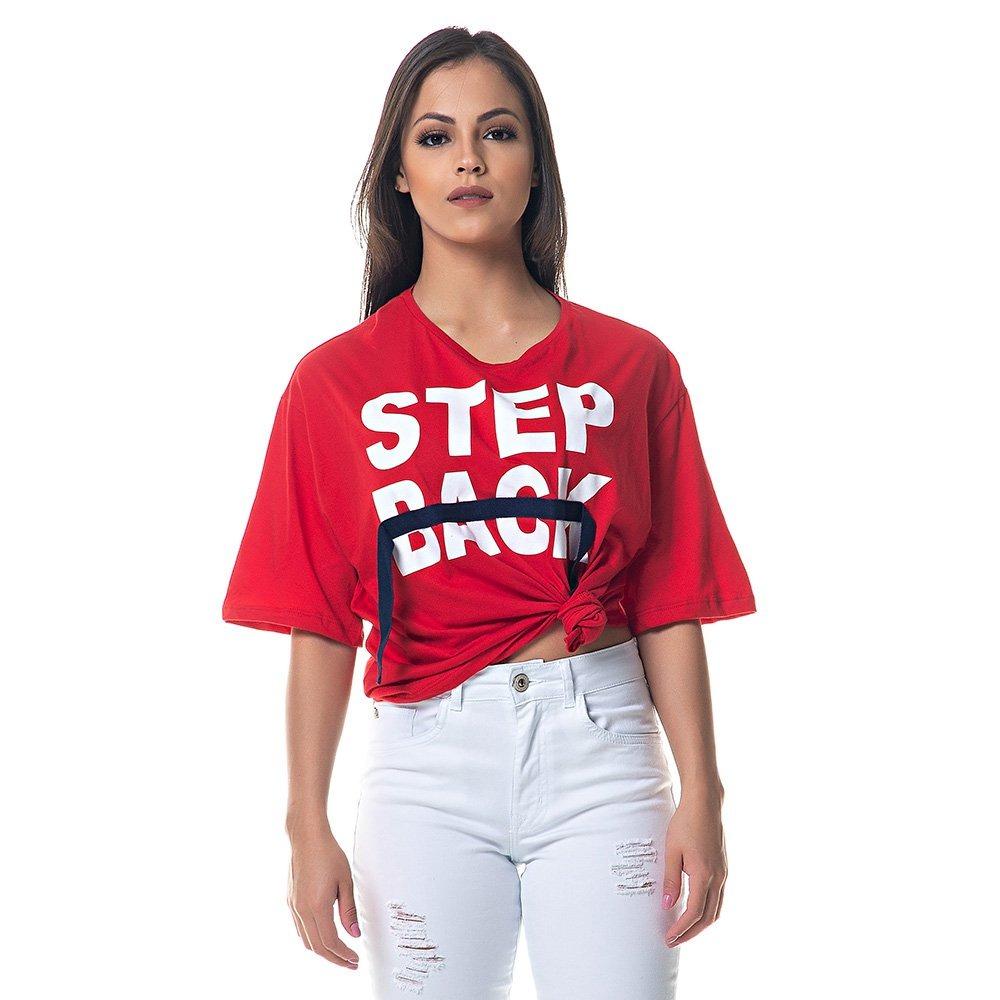 93885d050 blusa camiseta feminina lez a lez manga curta vermelha. Carregando zoom.