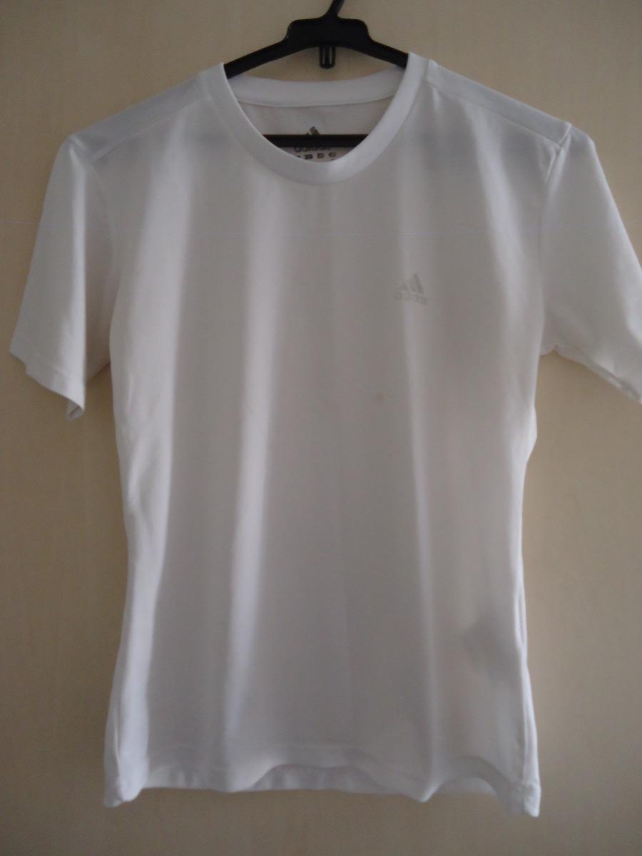 9881c503c2 blusa camiseta feminina manga curta adidas p usada. Carregando zoom.