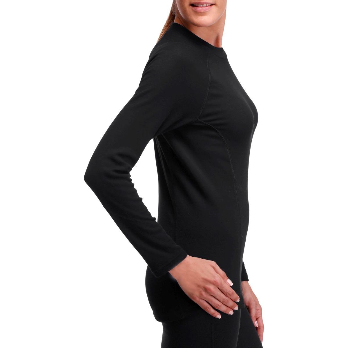 03a71c6013 blusa camiseta feminina térmica inverno corrida caminhada. Carregando zoom.