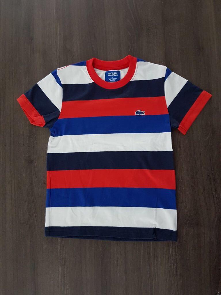 6644e483ea3ef blusa camiseta lacoste infantil original. Carregando zoom.