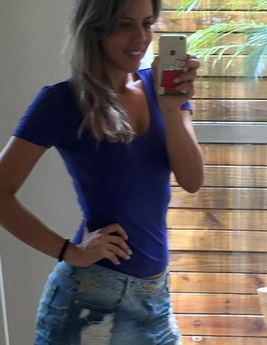 blusa camiseta manga curta