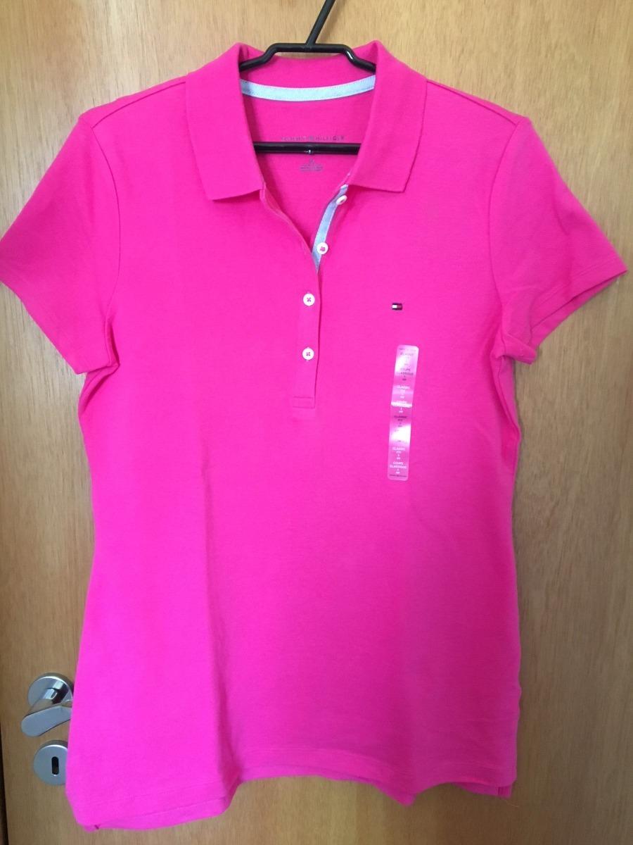 blusa camiseta polo feminina tommy hilfiger frete gratis. Carregando zoom. c398b5881536b