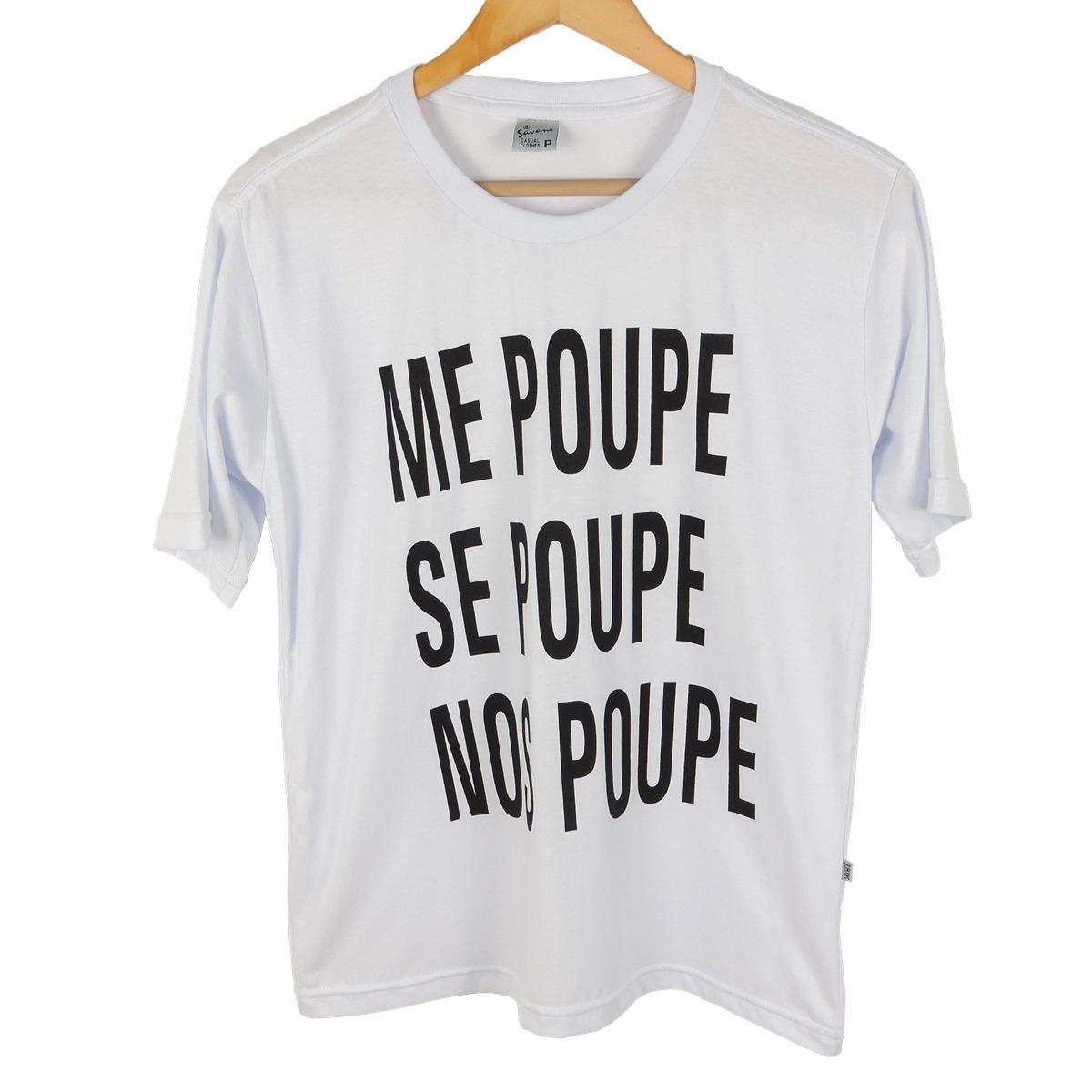 159377b88b blusa camiseta tshirt feminina frases me poupe manga curta. Carregando zoom.