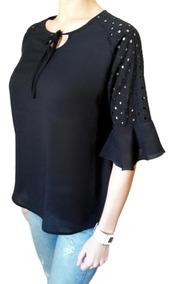 textura clara apariencia elegante lista nueva Palazos De Fibrana Para Mujer - Blusas de Mujer M en Mercado ...