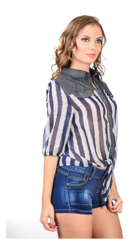 blusa capricho collection cmf-248