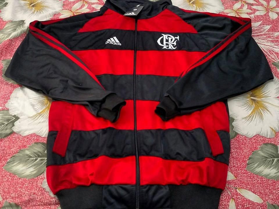 blusa casaco flamengo rubro negro listrado frete grátis. Carregando zoom. bd496df22e68d