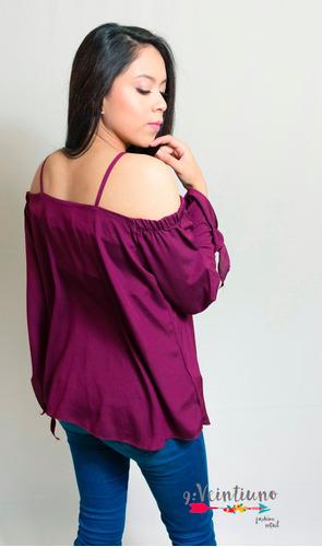 blusa casual para dama