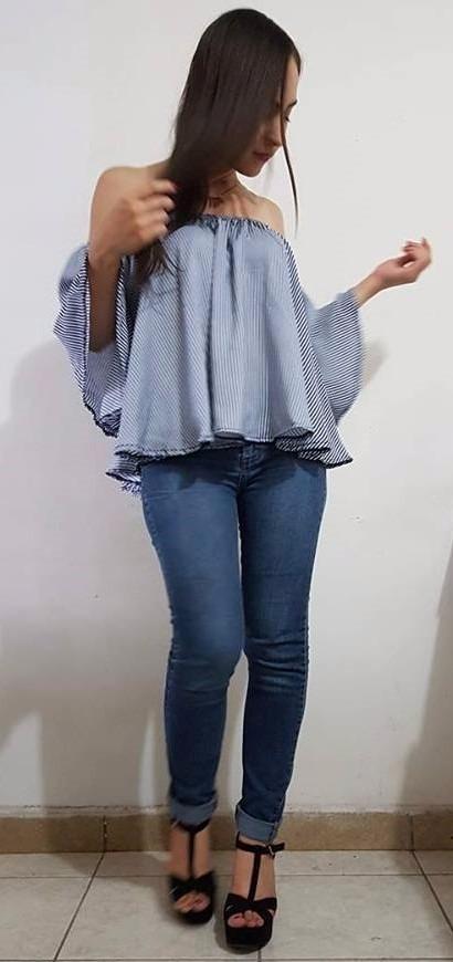 Blusa casual para dama ropa de marca mayoreo y menudeo - Marcas de ropa casual ...