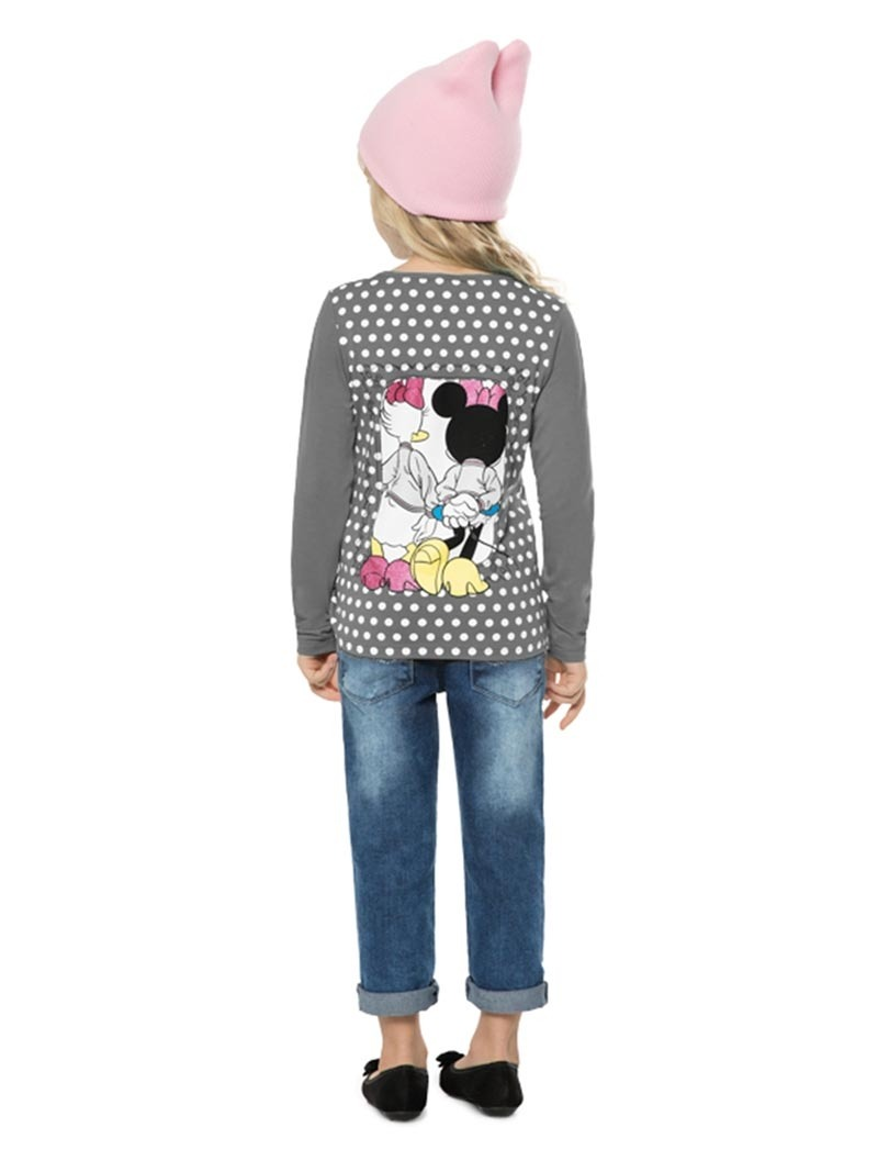 blusa cativa disney minnie cinza - d60103. Carregando zoom. 317f65d1c7a