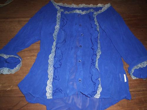blusa cigana crepe  feminina  tamanho m