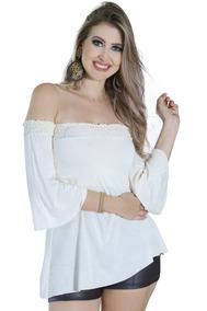 9e2d34179 Modelos De Blusas De Cambraia Ciganinha Tamanho M - Blusas M para Feminino  em Paraná no Mercado Livre Brasil