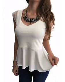 4e0a3019a Zara Peplum - Blusas de Mujer XS en Mercado Libre Argentina