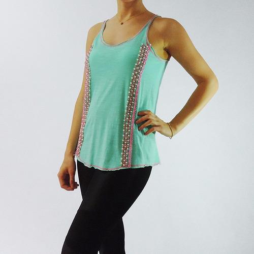 blusa com alça - feminina verão - regata nova - tecido leve
