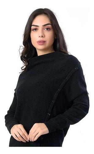 blusa com botões na lateral feminina miss yes