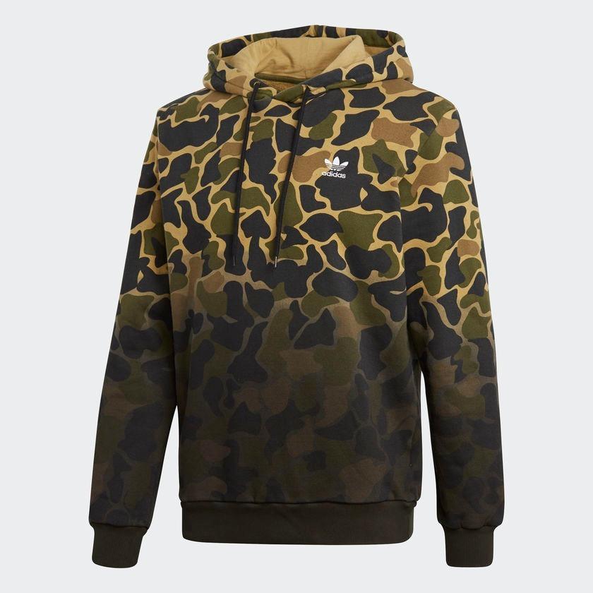 36dd36790e8 blusa com capuz adidas camouflage original - footlet. Carregando zoom.