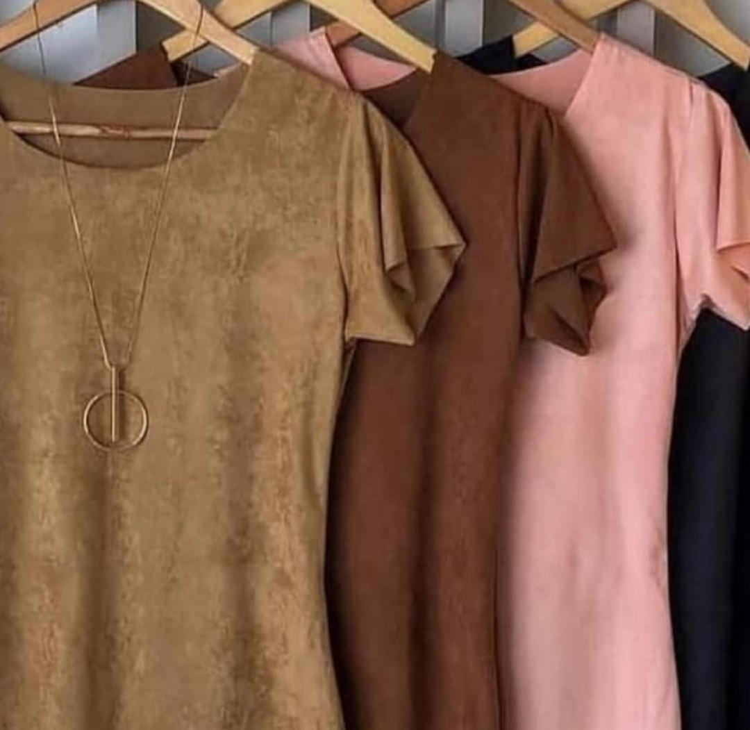 b9c760b2e0 blusa com nó em suede amarrar feminina camurça blusinha 2019. Carregando  zoom.